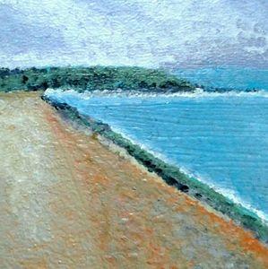 "Original ""Monte Carlo"" Abstract Seascape"